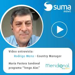 SUMA móvil - Vídeo entrevista Rodrigo Mena - Meridional Radio