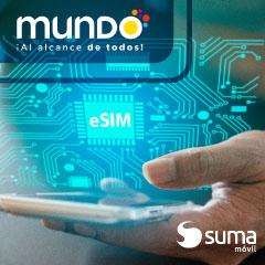 La Plataforma de SUMA móvil permite a Mundo Pacífico ser el primer OMV en ofrecer servicio eSIM