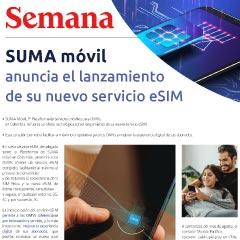 SUMA móvil anuncia el lanzamiento de su nuevo servicio eSIM